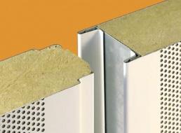 panneau acier perfor laine de roche lra acoustique panneaux produits plasteurop vos. Black Bedroom Furniture Sets. Home Design Ideas
