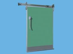 Porte coulissante isotherme PCTA - Industrie - Portes ...